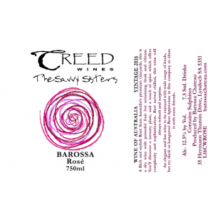 Creed Wines Rosé Horizontal