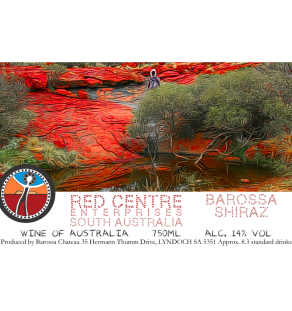 Red Centre Barossa Shiraz (Medium) (Custom)